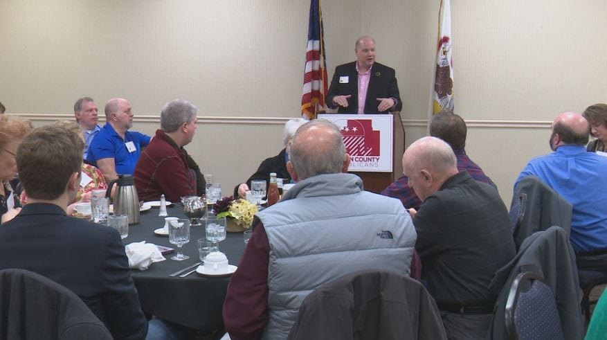 Residents meet Normal Town Council candidates over brunch