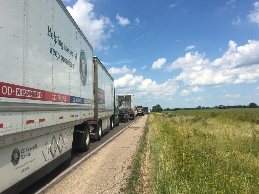 UPDATE: I-74 reopens after deadly fiery semi accident - WEEK