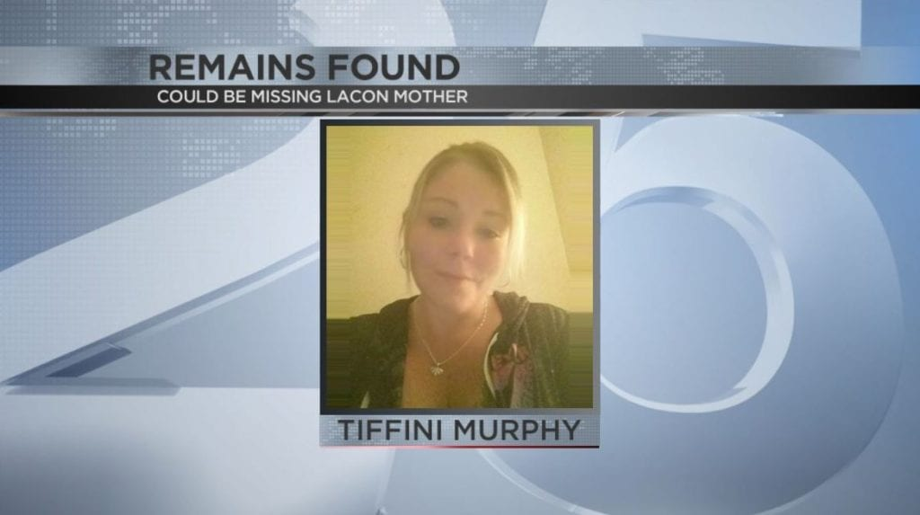 Remains found in rural Edelstein, possibly those of Tiffani Murphy