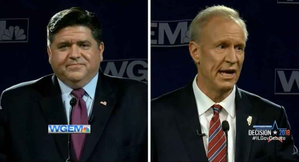 Gubernatorial candidates face off in downstate debate