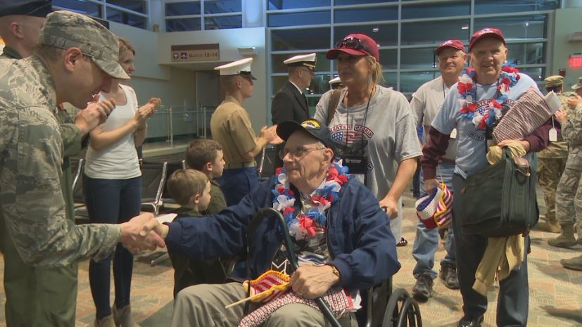 Honor Flight 2019: Sharing Veteran Stories