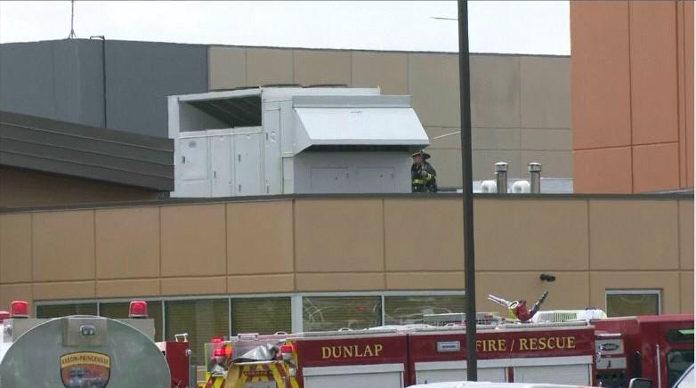 Students Safely Evacuated After Fire Breaks Out At Dunlap High