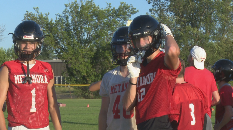 Metamora Redbirds hard at work first week of practices