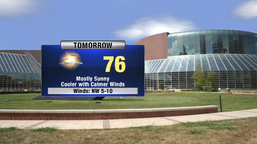 Cooler For The First Day Of Fall Tomorrow