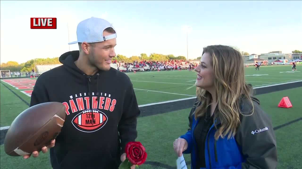 "WATCH: Washington native and former star of The Bachelor plays ""Would you rather?"" with Trish Christakes"