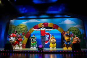 (Credit: PAW Patrol Live! 'Race to the Rescue' photos courtesy of Nickelodeon and VStar Entertainment Group)