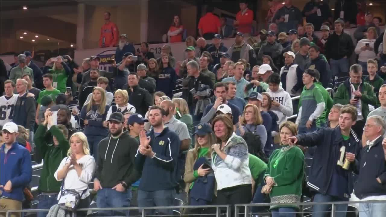 Fighting Irish season ends with lopsided loss in Cotton Bowl