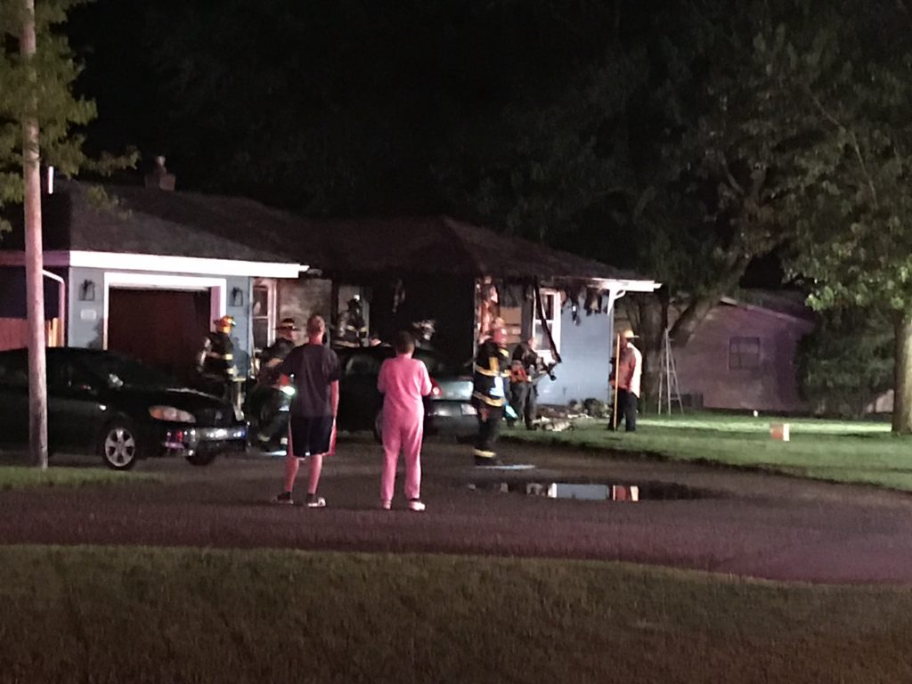 Southwest fire crews battle early-morning house fire