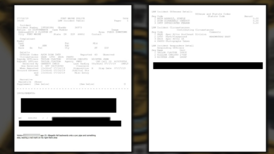 DIGGING DEEPER: City heavily redacts public record involving Allen County Sheriff