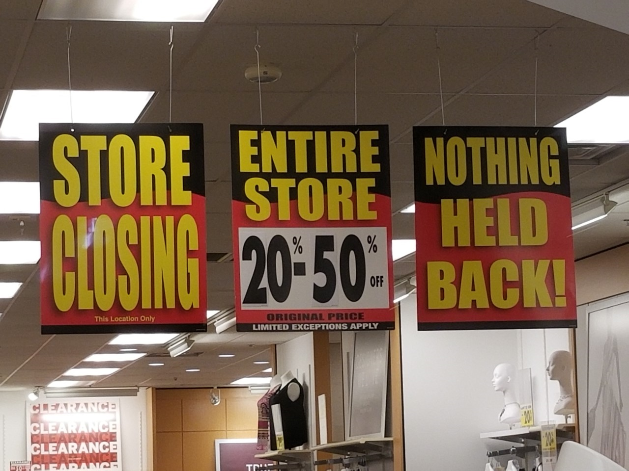 Dressbarn Begins Store Closings Sale But Company Will