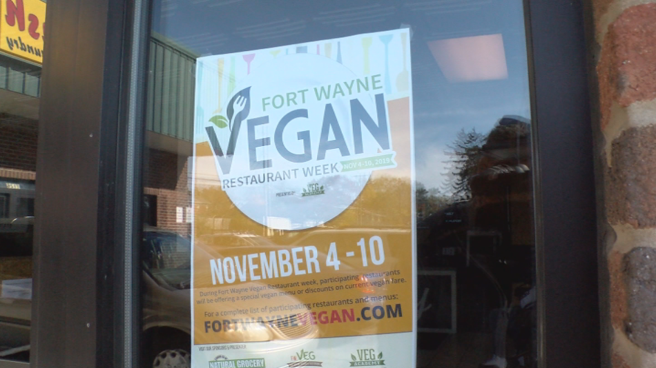 Poster for Fort Wayne Vegan Week