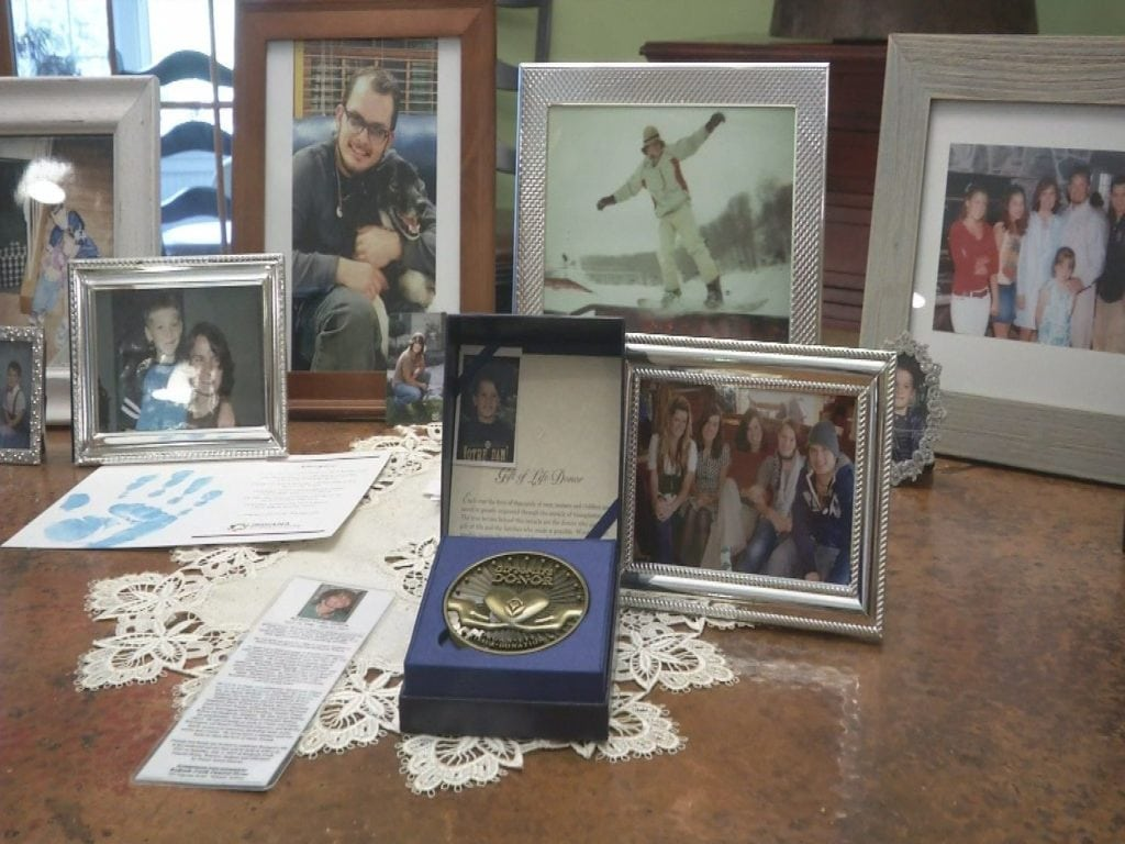 Organ recipients write letters to family of donor