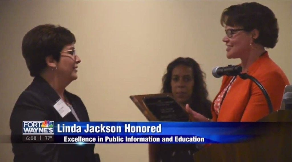 Linda Jackson honored with statewide judges association award