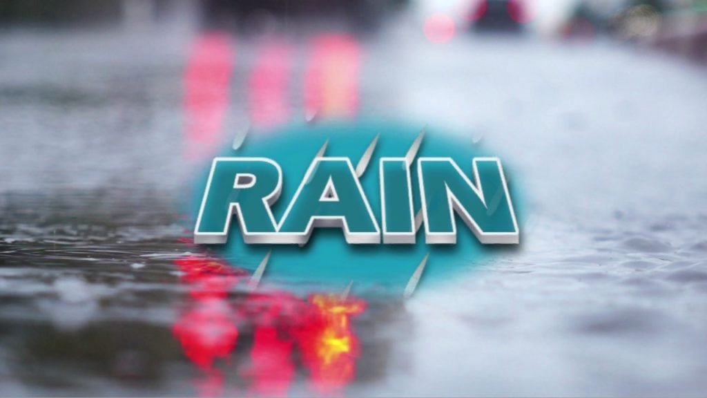 More showers and storms possible Sunday