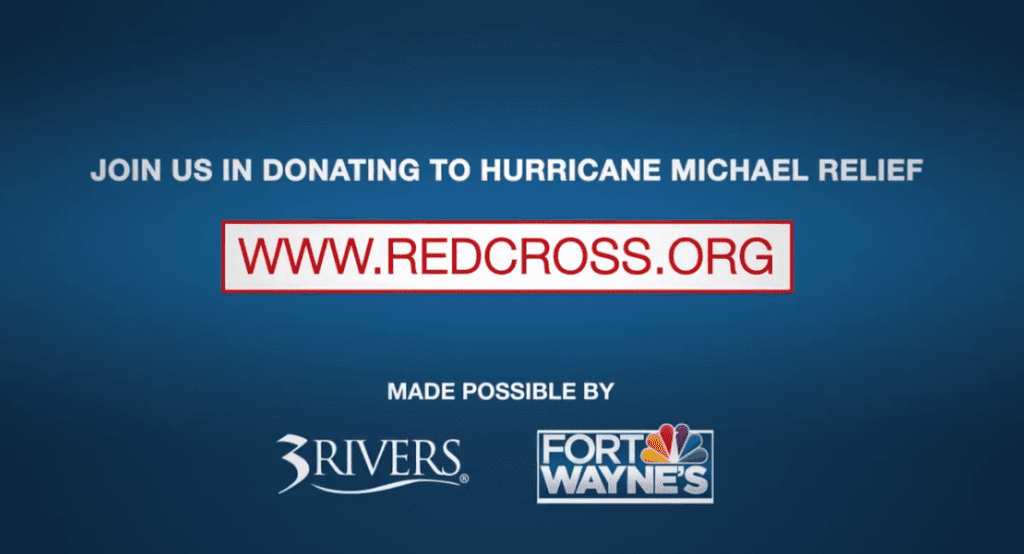 Help with hurricane relief, donate to Red Cross