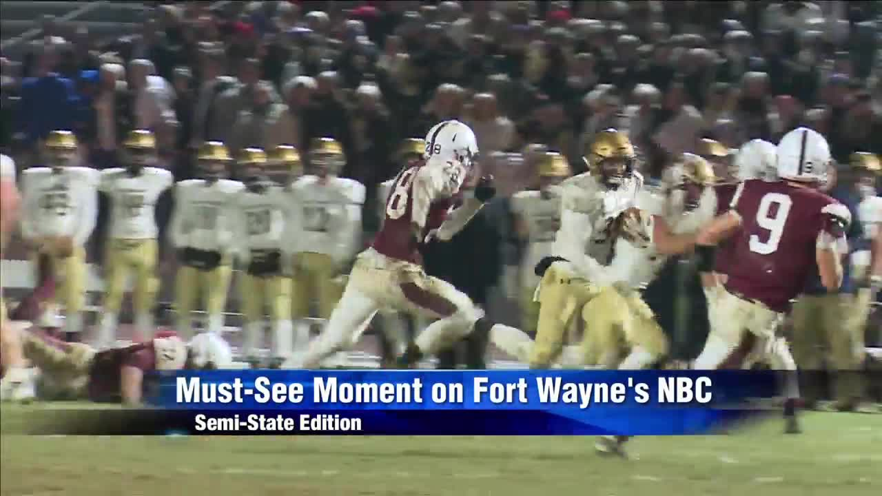 Must See Moment: Bishop Dwenger Punches Ticket to Lucas Oil Stadium