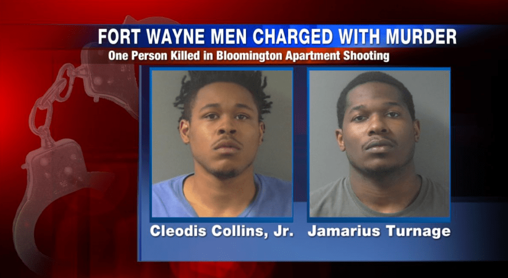 2 Fort Wayne men arrested, charged with Bloomington murder