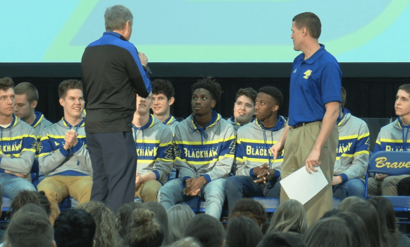 Excitement surrounds Blackhawk before State
