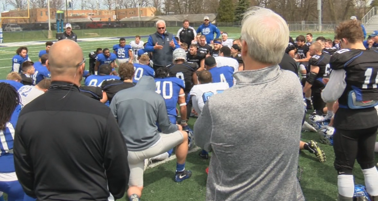Cougars impress in Black and Blue Spring Game