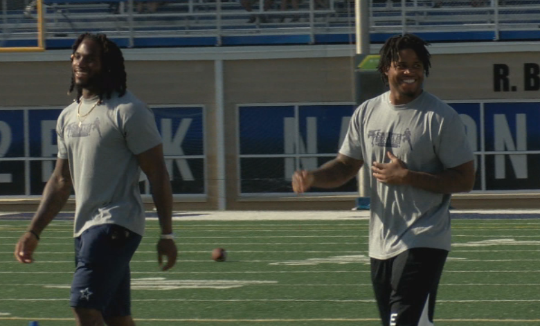 Smith Brothers back in the Fort, Hold Earn Your Stripes camp