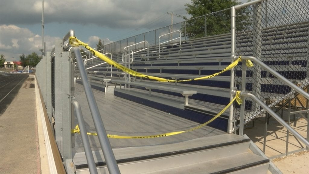 Homestead, Dwenger administrations seeking those responsible for stadium damage