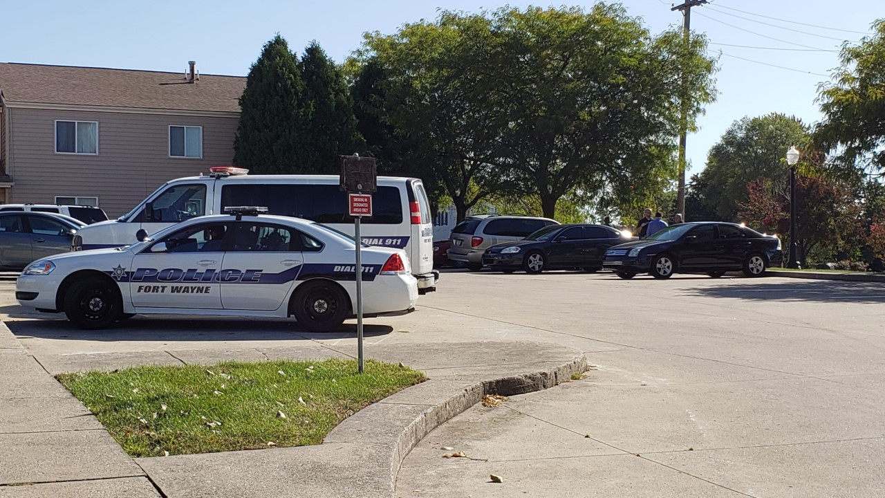 One person has died this morning from stab wounds in Fort Wayne