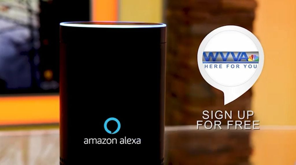 Ask Alexa for the latest from WVVA News!