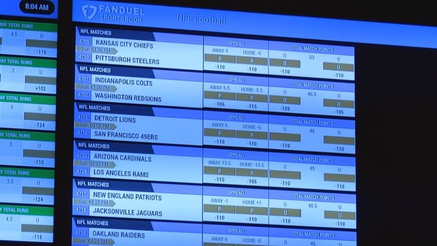 Wv is blueprint for sports betting in states wvva wvva reached out to the governors office for comment so far no comment has been made malvernweather Choice Image