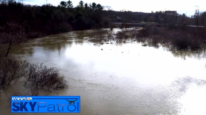 Sky Patrol: High water in Mercer County