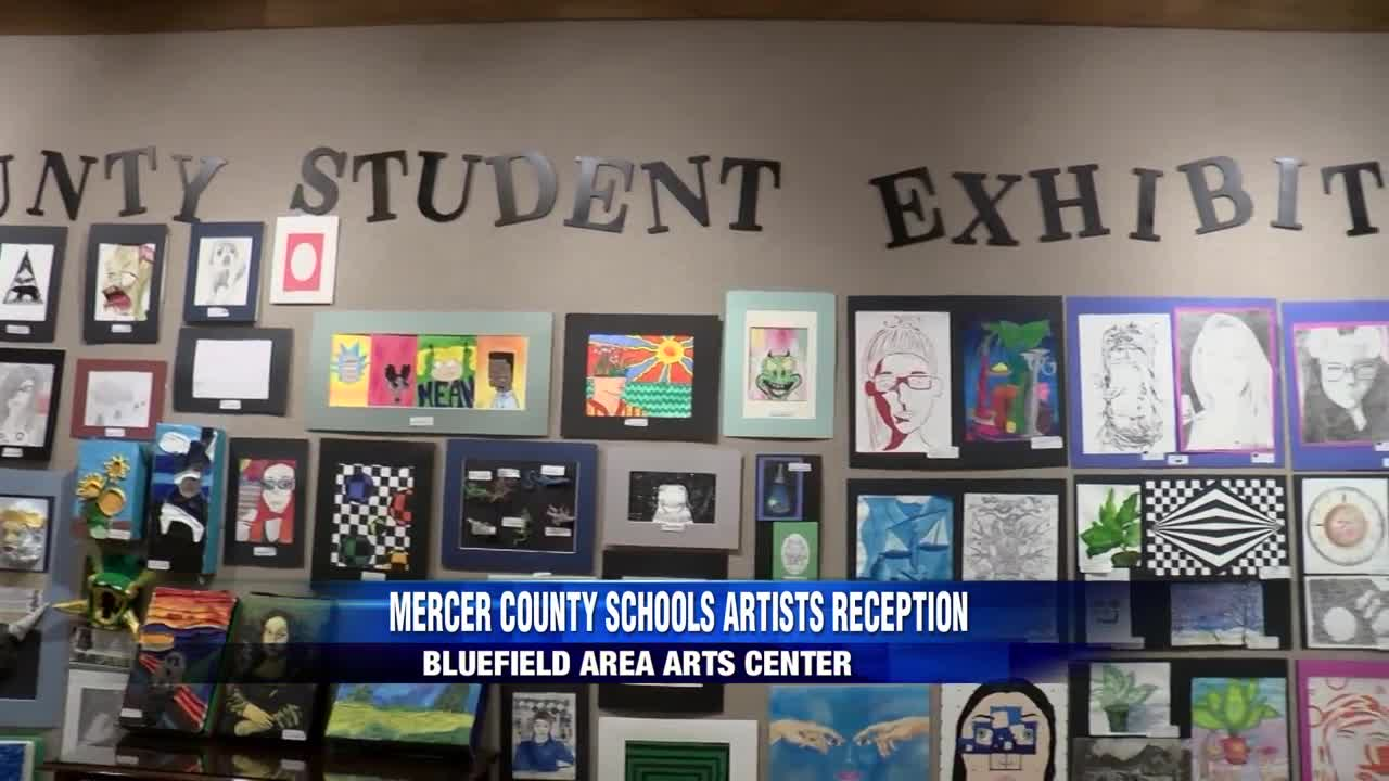 Young artists show off their work in Mercer County