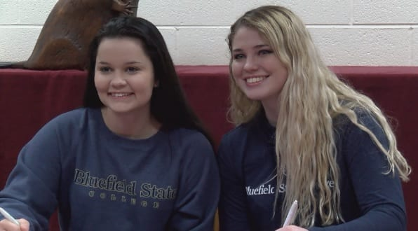 Three Bluefield student-athletes sign National Letters of Intent