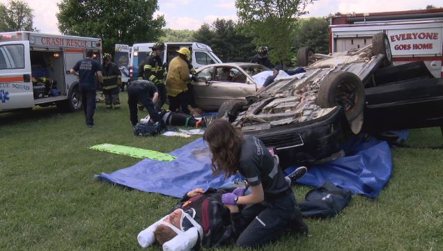 Arrive Alive campaign takes center stage at high school,
