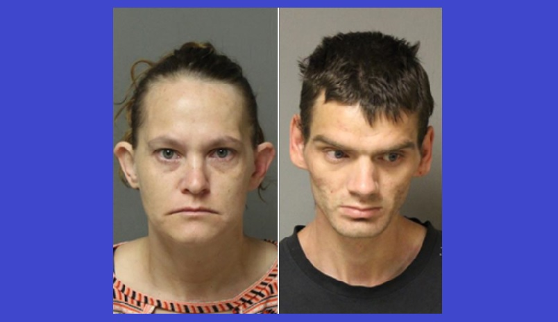 2 charged with methamphetamine trafficking in Giles County