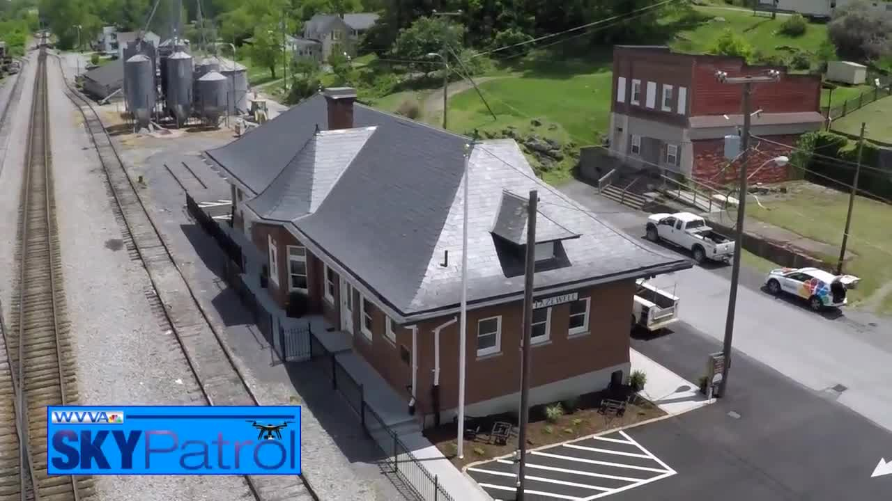SkyPatrol: The newly renovated Tazewell Train Station