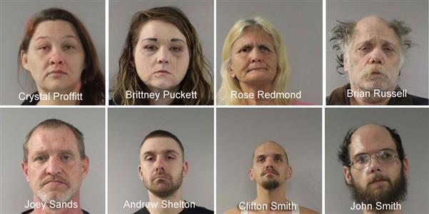 Tazewell County Drug Roundup Nets 98 Arrests, 18 Still
