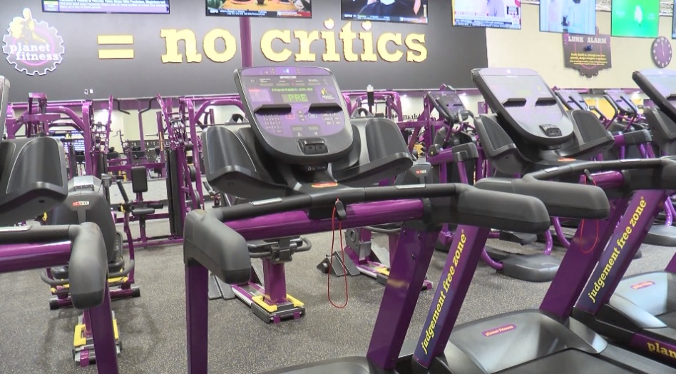 Beckley Planet Fitness employee caught spying on a woman