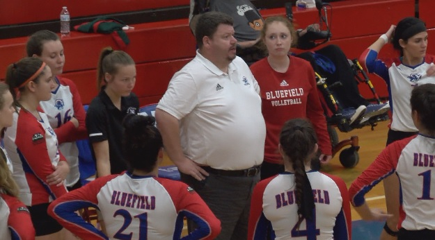 Bluefield College Volleyball Stays Hot Against Kentucky Christian