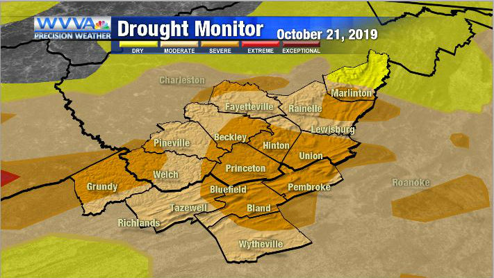 Could the rain from this past weekend and the rain ahead this week bring relief to the drought?