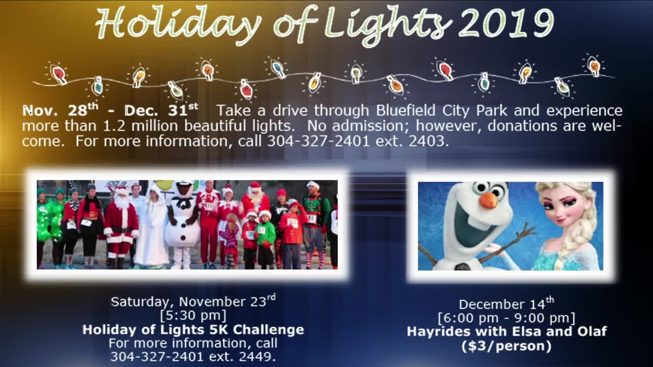 Preparations underway for Bluefield's 'Holiday of Lights'