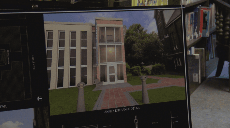 Historic Free Coburn Library to add new elevator