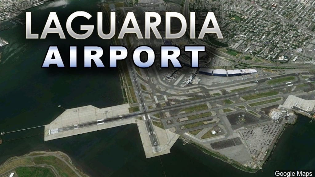 1st new concourse opening at LaGuardia Airport