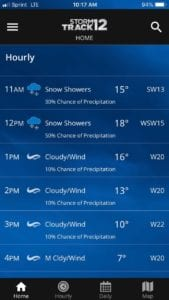 Download the WBNG Storm Track 12 weather app - WBNG