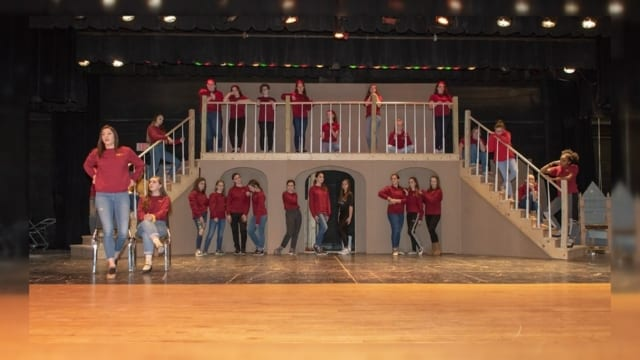 The Chenango Valley High School Theatre Guild presents The Addams Family