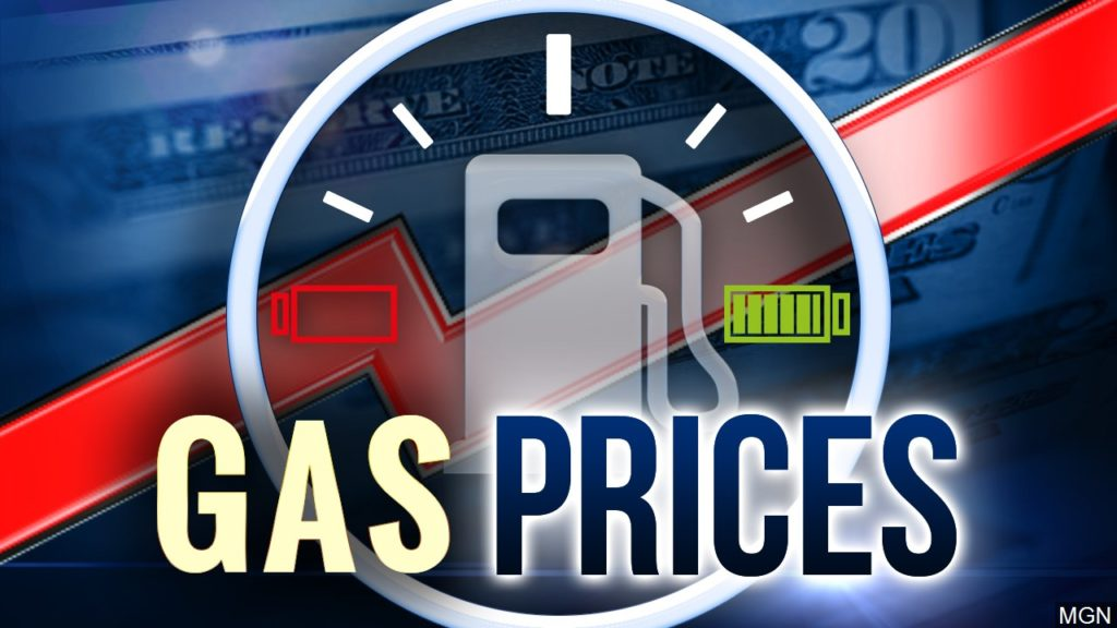 Gas prices fall in Virginia, rise nationally, remain unchanged locally