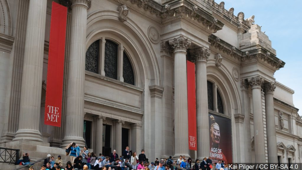 Met Museum: No more money from family connected to OxyContin