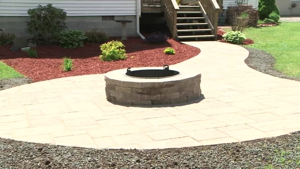 Home Gardener: Paver Patio And Fire Pit   WBNG