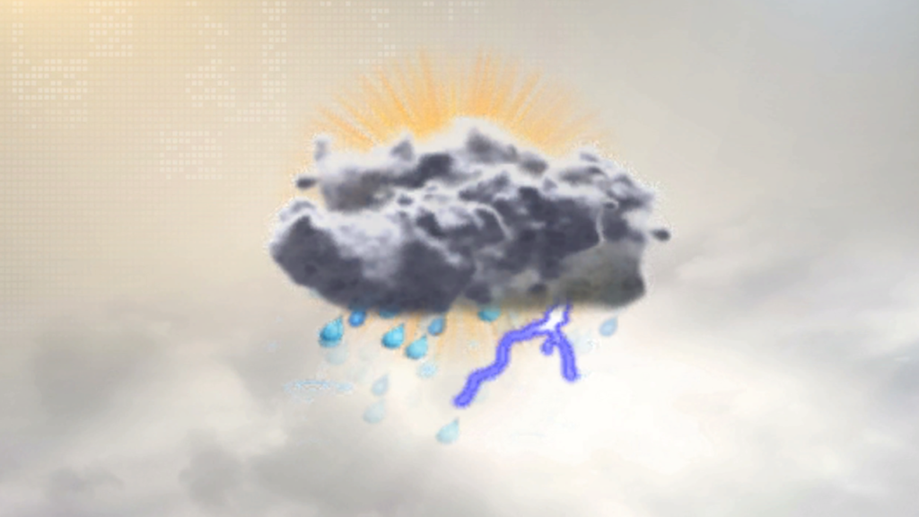 Sun now, but showers are on the way