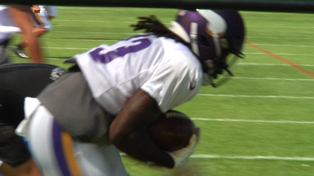 Vikings Zimmer continues to evaluate the backfield