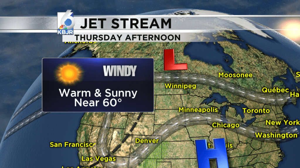 Clear and cool tonight, windy and warm Thursday!