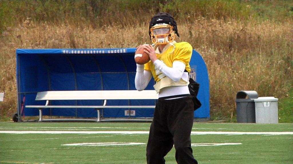 Zach Edwards sets CSS record with 7 TD passes vs Greenville